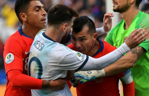 Argentine: Messi suspendu un match après son expulsion en Copa America