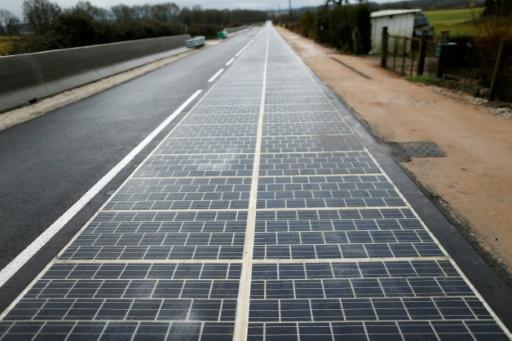 Dans l'Orne, la première route solaire au monde est un