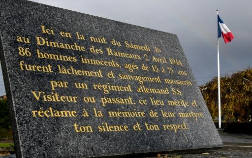 Massacre d'Ascq: un ancien SS mis en accusation pour incitation à la haine raciale