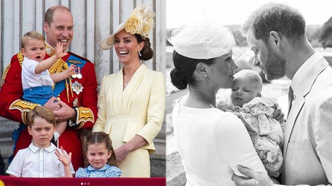 George, Charlotte et Louis n'ont rencontré Archie que DEUX MOIS après sa naissance