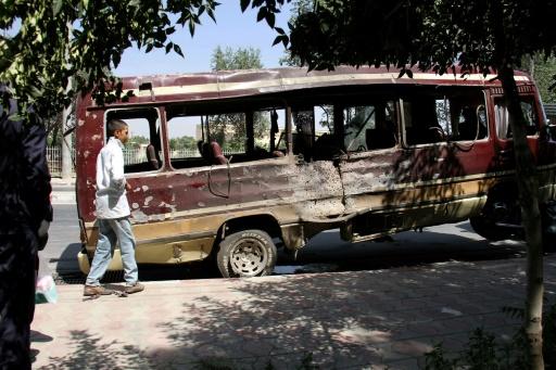 Trois explosions à Kaboul, au moins cinq morts