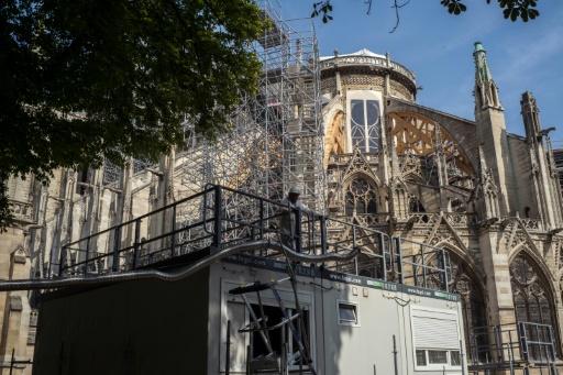 Notre-Dame: le chantier suspendu