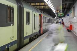 Plusieurs trains bloqués à cause de problèmes avec les caténaires