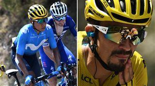 Tour de France- un Quintana survolté remporte la première étape des Alpes, Alaphilippe s'accroche à son maillot jaune