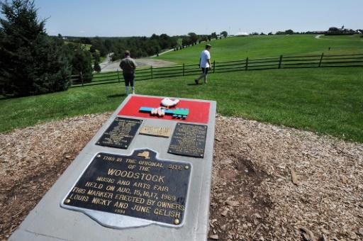 L'anniversaire du festival de Woodstock déplacé dans le Maryland