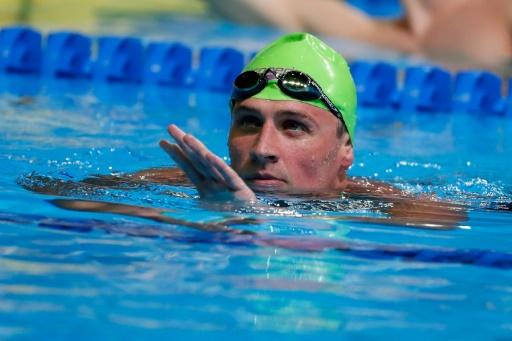 Le sextuple champion olympique Lochte reprend la natation après 14 mois de suspension