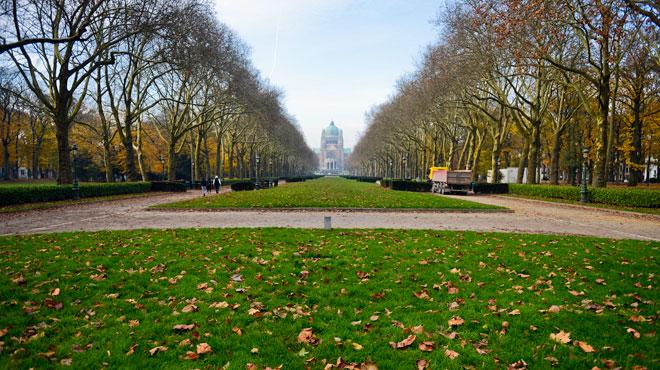 Orages en vue: Bruxelles ferme ses parcs