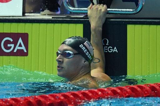 Mondiaux de natation: Caeleb Dressel nouveau record du monde sur 100 m papillon en 49.50