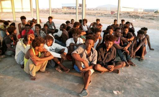 En Libye, l'attente en silence des rescapés d'un naufrage