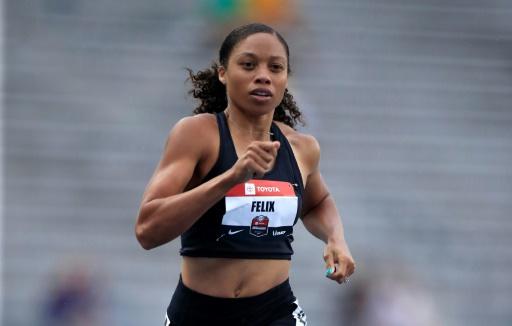 Athlétisme: qualification difficile d'Allyson Felix pour la finale du 400 m aux Chpts US