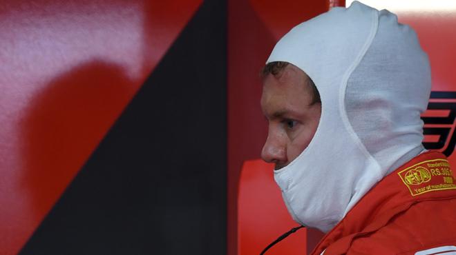 Vettel dernier sur la grille de départ au Grand Prix d'Allemagne de F1
