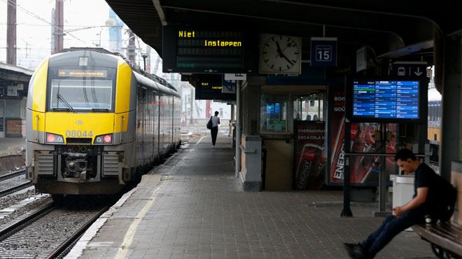Seuls 3 trains sur 5 ont circulé aujourd'hui en raison d'une grève d