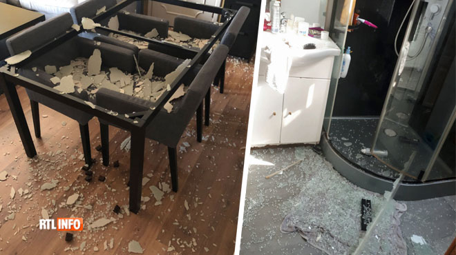 La table de Simon et la douche de Sylvie ont explosé durant la canicule: