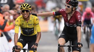 Tour de France- pour le Colombien Egan Bernal, l'avenir paraît radieux