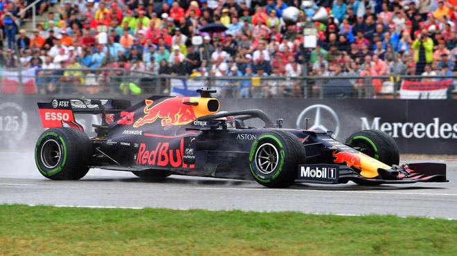 Max Verstappen remporte le Grand Prix d'Allemagne, des dégâts parmi les favoris