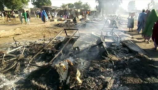 Nigeria: une attaque de Boko Haram dans le Nord-Est fait 65 morts