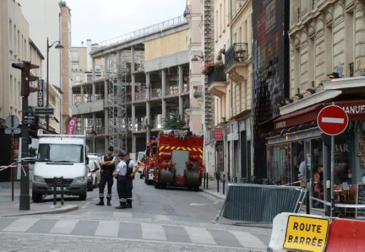 Paris: un mort et trois blessés graves dans l'effondrement d'un échafaudage