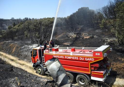 Incendie dans le Gard: 488 ha parcourus, le feu ne se propage plus