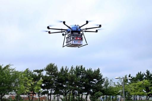 Corée du Sud: des livraisons par drone testées dans des zones reculées