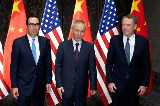 Commerce Chine-USA: pourparlers