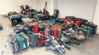 La police liégeoise démantèle un réseau de receleurs- à qui appartiennent ces 323 objets volés?