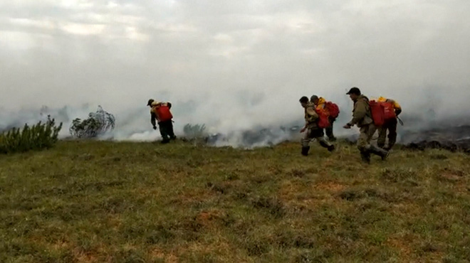 Des gigantesques incendies ravagent la Sibérie depuis plusieurs semaines: une surface grande comme la Belgique a déjà été détruite
