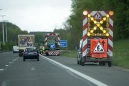 Une campagne pour inciter les conducteurs à ralentir à l'approche de chantiers