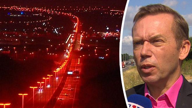 Les Pays-Bas rallument les lampadaires la nuit sur les autoroutes: