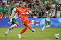 Les Belges à l'étranger - Matz Sels (Strasbourg) sorti sur blessure en Europa League