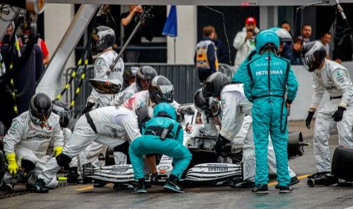 F1: ce qu'il se passe pendant un arrêt aux stands