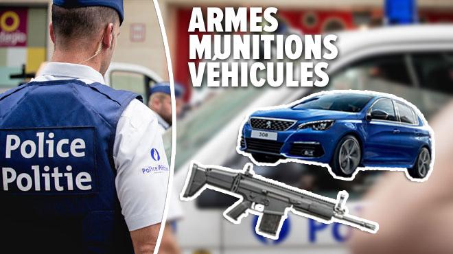 La police de Charleroi investit plus d'un million d'euros: voici le nouveau matériel acheté