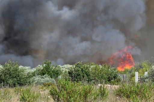 Gard: un bombardier d'eau luttant contre le feu s'écrase, le pilote tué
