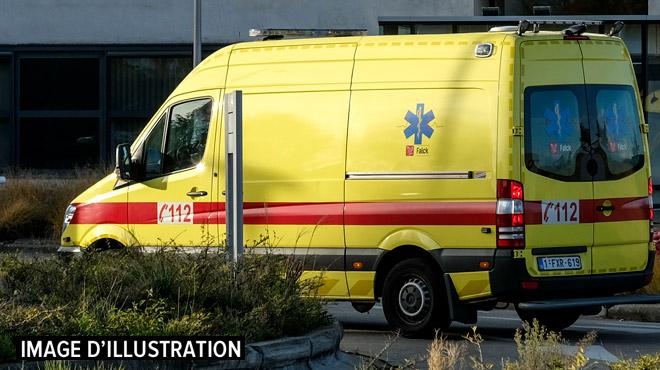Une personne grièvement blessée dans un accident à Baelen