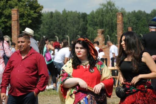 L'extermination de Roms évoquée à Auschwitz, 75 ans après