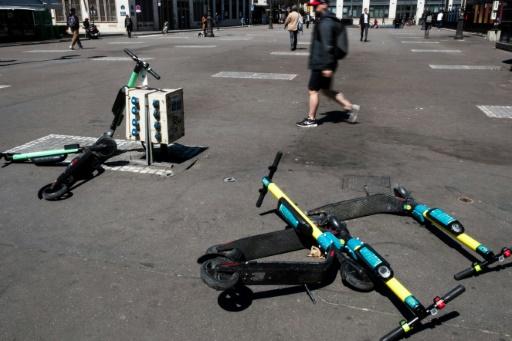 Trottinettes électriques mal garées à Paris: qui paie l'amende ?
