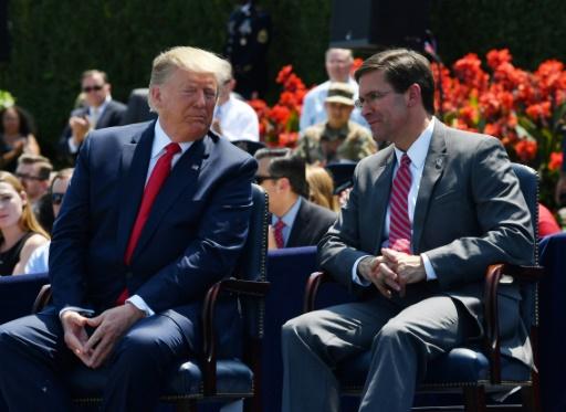 Washington veut déployer de nouveaux missiles en Asie, annonce le chef du Pentagone