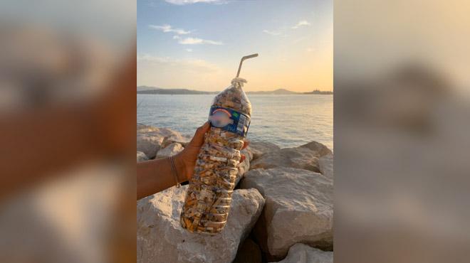 Ahurissant: #FillTheBottle, le défi écologique qui vise à ramasser des mégots de cigarettes (photos)