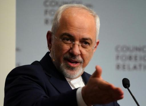 Zarif visé par des sanctions après avoir refusé de rencontrer Trump, pour des responsables iraniens