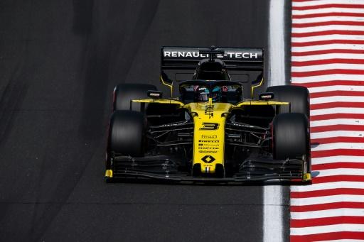 GP de F1 de Hongrie: Ricciardo (Renault) partira en fond de grille