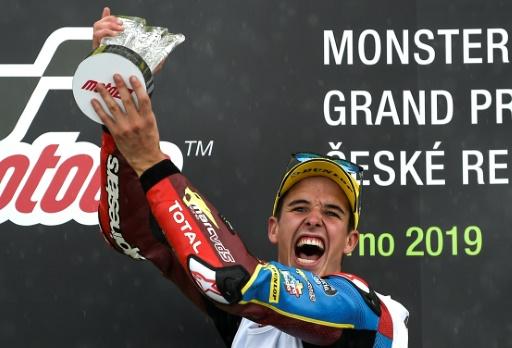 Moto2: Alex Marquez s'impose magistralement en République tchèque
