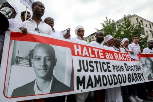 Enseignant guinéen tué en France: cérémonie d'hommage dans une université de Conakry
