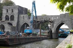 Pont des Trous à Tournai: le chantier a du retard