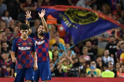 Amical: Luis Suarez décisif  pour Barcelone contre Arsenal