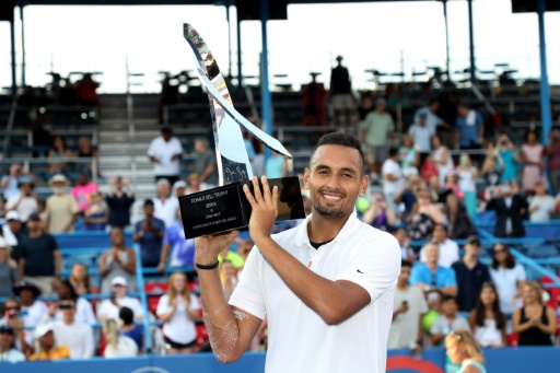 Tennis: Kyrgios remporte à Washington le 6e titre de sa carrière