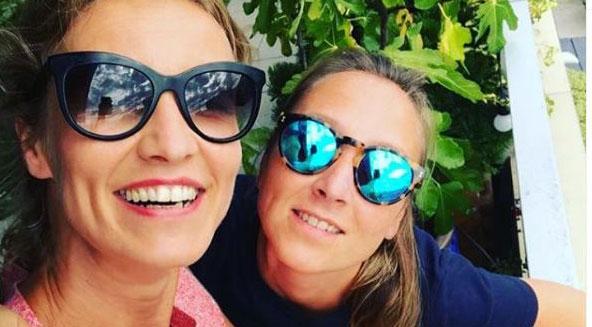 Alexandra et Audrey Lamy: les deux sœurs encore une fois réunies (photos)