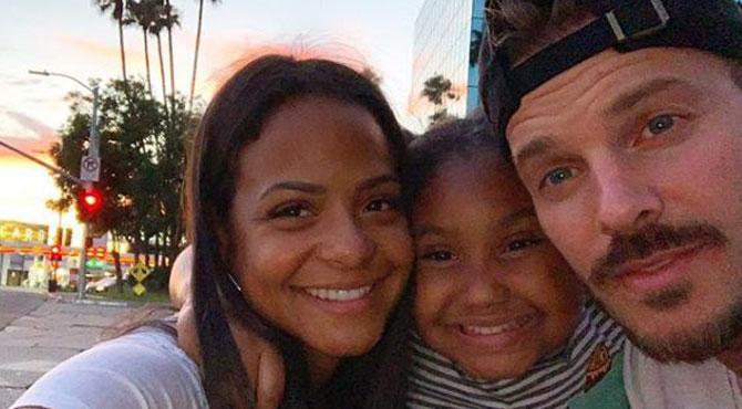 M. Pokora très proche de la fille de sa compagne Christina Milian: la famille est apparue souriante pour une virée shopping