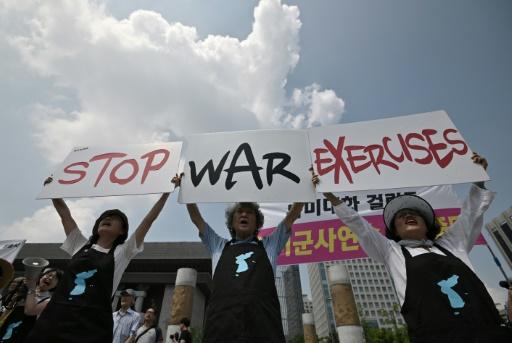 Séoul et Washington lancent leurs exercices militaires, malgré Pyongyang