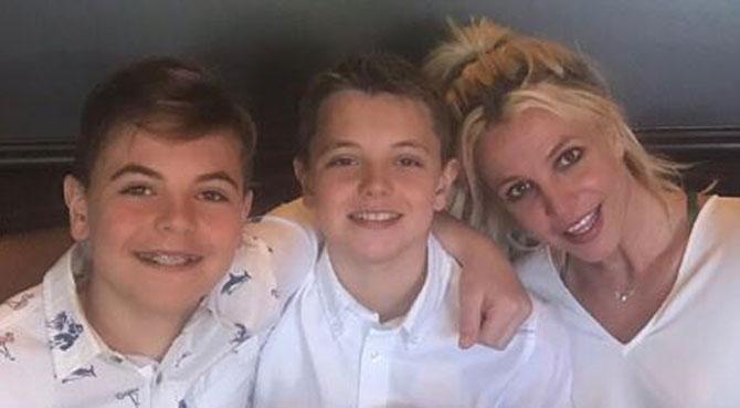 Britney Spears publie une photo avec ses fils: le changement est frappant (photos)