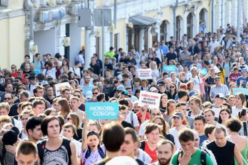 Russie : le Parquet veut punir un couple ayant manifesté avec son bébé
