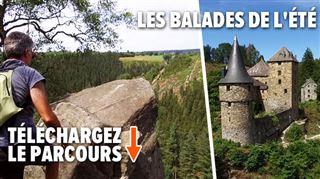 Explorez le sentier panoramique de Robertville- un rocher à 100m de haut et un château exceptionnel (vidéo)